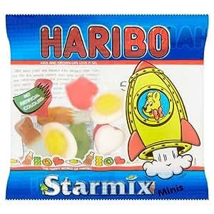 Haribo Starmix - Mini Bolsa de Gominolas Surtidas 20g (Pack de 100)
