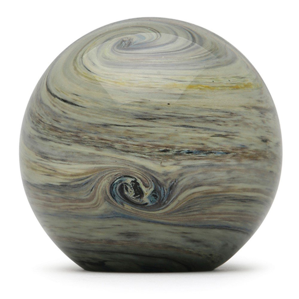 One-of-a-kind Jupiter Glow 4 wide Glass Handmade Large Paperweight FREE SHIPPING to the lower 48 when you spend over $35.00