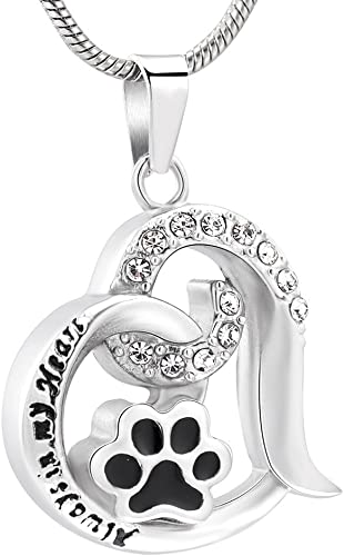 Pet Memorial Urn Pendant for Ashes Cremation Hollow Craft Pendant Accessory