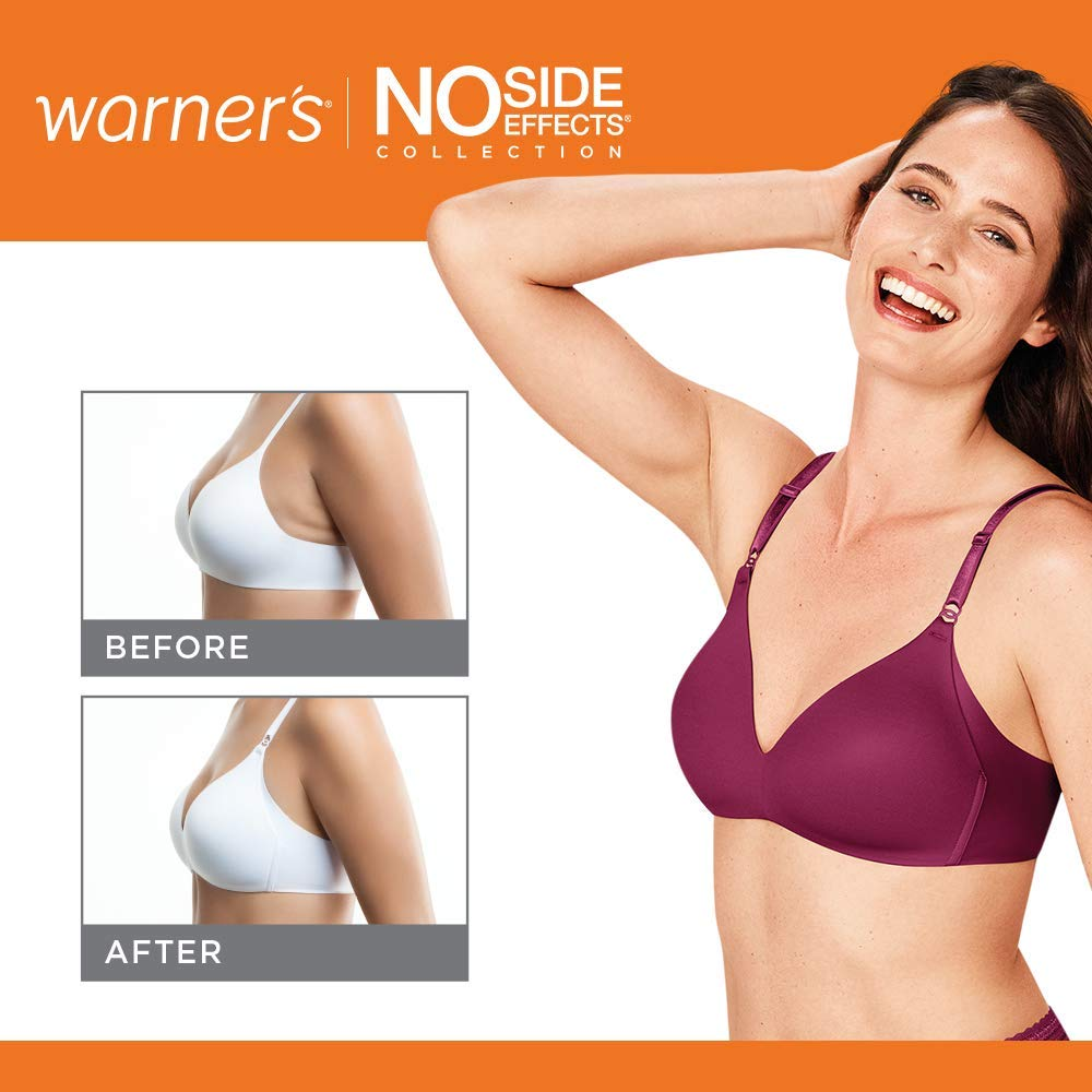 No Side Effects Wire-Free Contour Bra