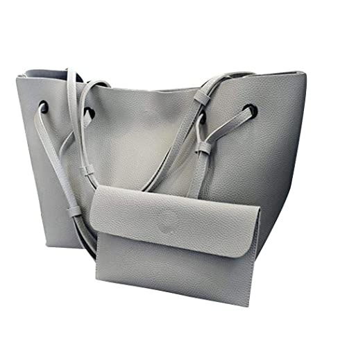 Amazon.com: Breven - Juego de 2 bolsas de hombro para mujer ...