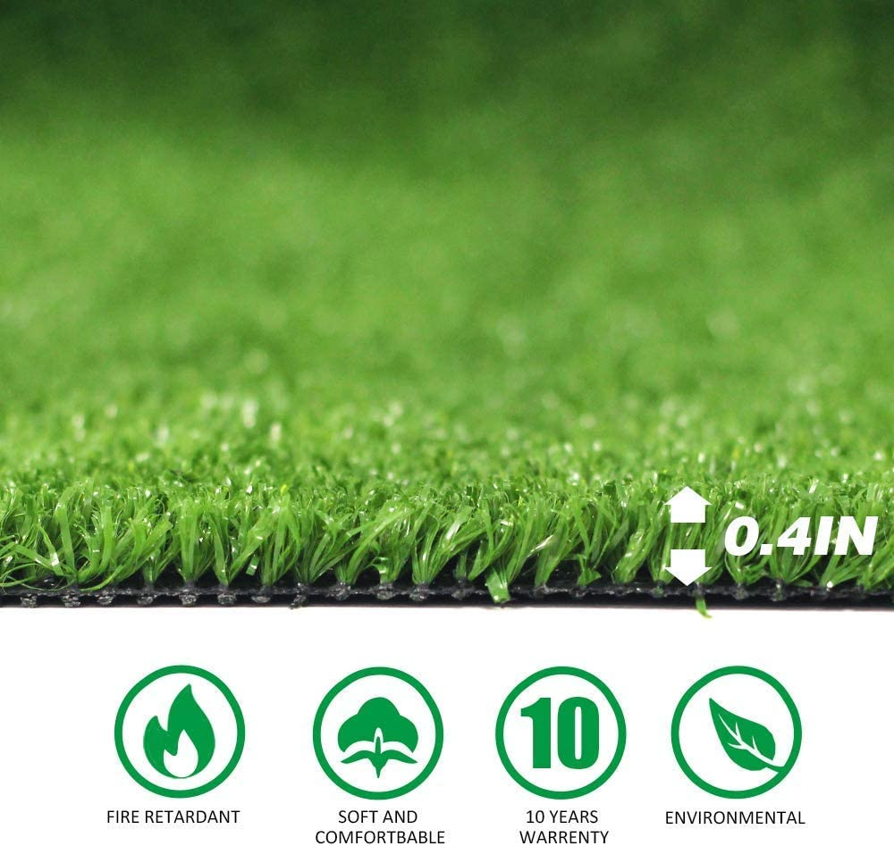 Artificial Grass Turf Rug 20MM Thick Faux Grass Synthetic Lawn Pet Turf Perfect for Indoor and Outdoor 13ft x 25ft 325 Square ft