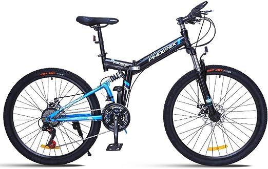 KOSGK Bicicleta MontañA 26 Bicicletas Unisex Freno Disco 24 ...
