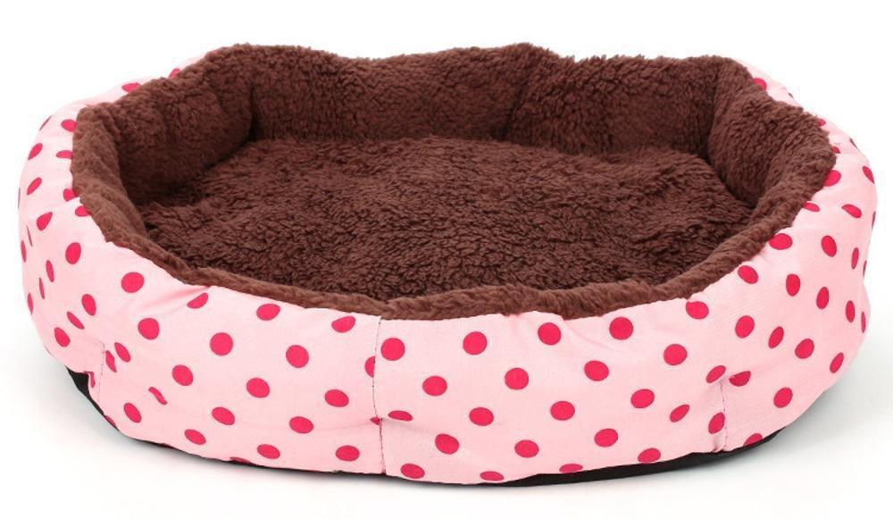 A 58cm 45cm 11cmBiuTeFang Pet Bolster Dog Bed Comfort Pet Nest thickening Warm kennel cat nest cushion