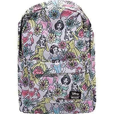 Loungefly Disney Princess Backpack School Bag Jasmine Ariel Belle Snow White: Toys & Games