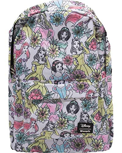 Loungefly Disney Princess Backpack School Bag Jasmine Ariel Belle Snow White -
