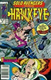img - for Solo Avengers #18 : Featuring Hawkeye and Moondragon (Marvel Comics) book / textbook / text book