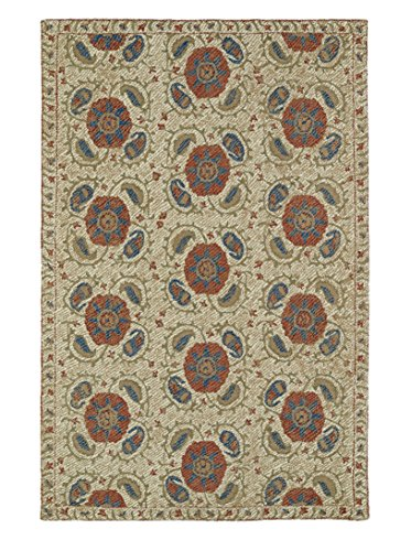 Hand Tufted Camel (Kaleen Rugs Montage Collection MTG10-43 Camel Hand Tufted 2' x 3' Rug)