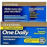 GoodSense One Daily Men's Health Formula Multivitamin/Multimineral Supplement, 100 Count