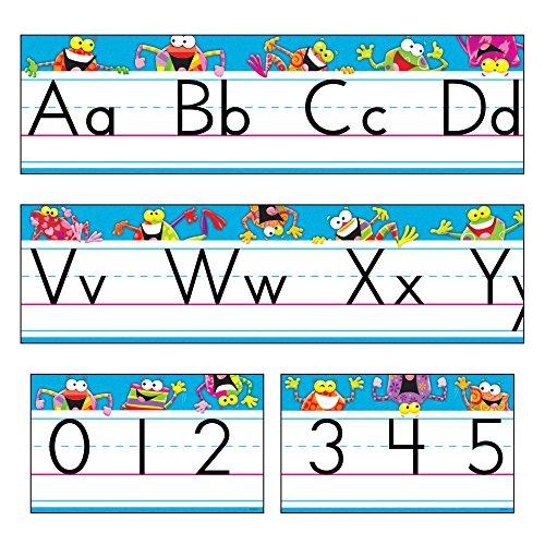 - TREND enterprises, Inc. Frog-Tastic! Alphabet Line Standard Manuscript B.B. Set