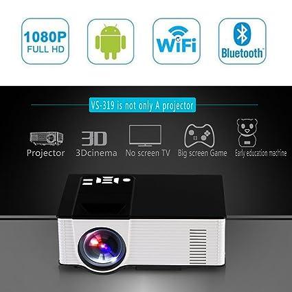 Gazechimp Mini Proyector digital Cable de Video Adaptador de ...