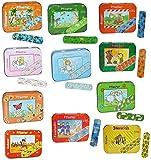 1 Set: 20 Kinderpflaster im Pflasterbox aus Metall - mit Jungen Motiven - Pflaster für Kinder und...