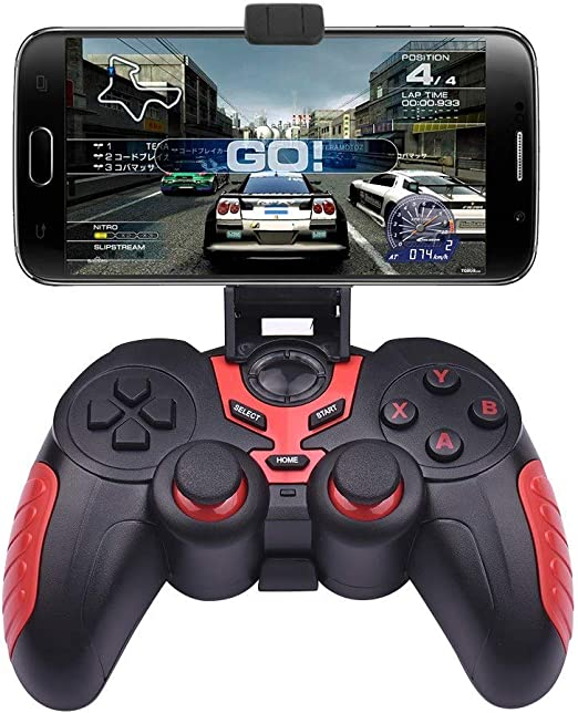 OverTop STK-7024X Wireless BT 3 en 1 Gamepad + Joystick + Soporte ...
