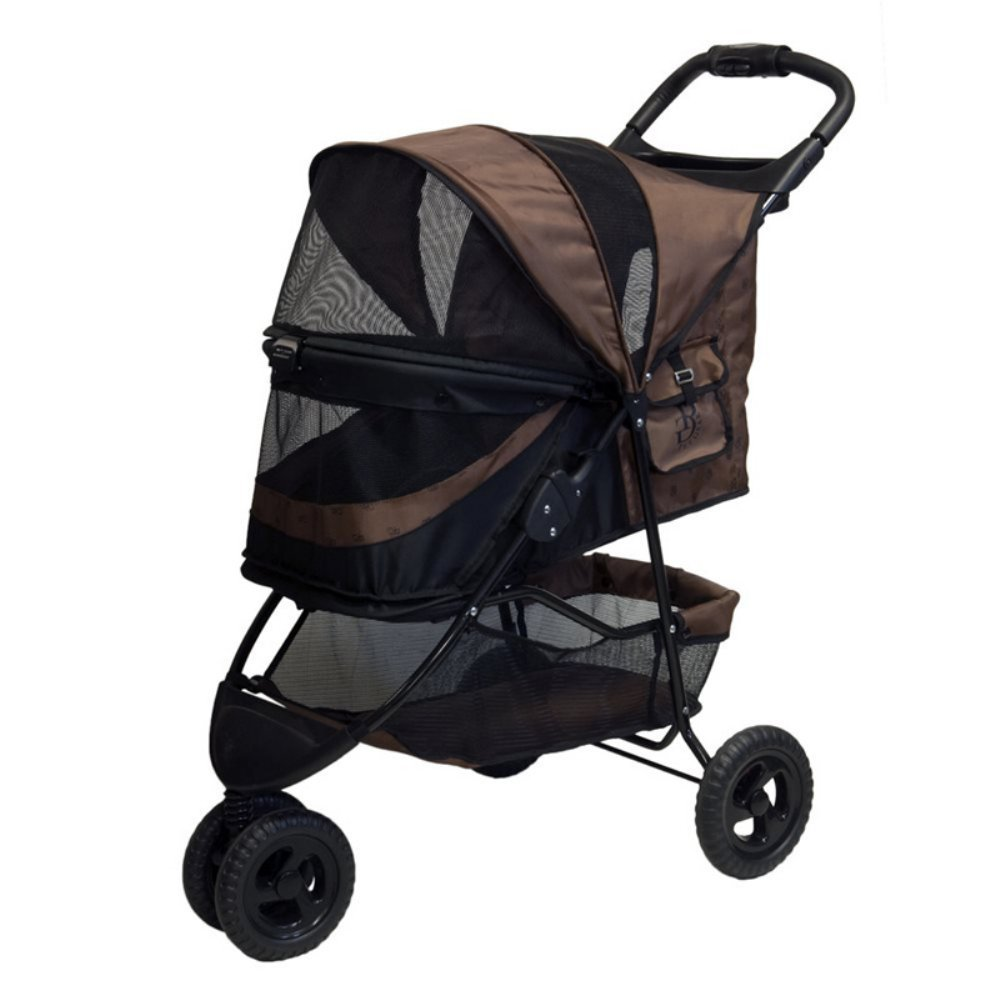 Special Edition No-Zip Pet Stroller – Chocolate