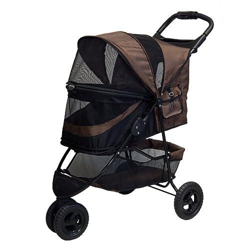 Special Edition No-Zip Pet Stroller – Chocolate
