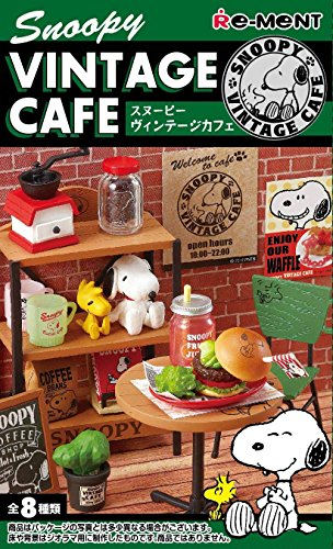 Snoopy Vintage Cafe Product 1box = Type