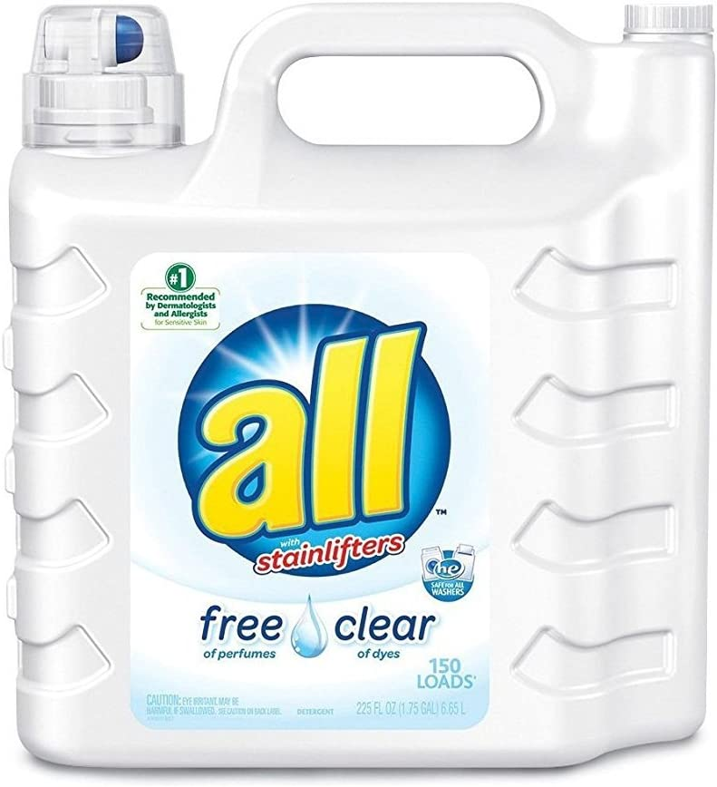 All Ultra with Stainlifter Free & Clear - 225 Oz