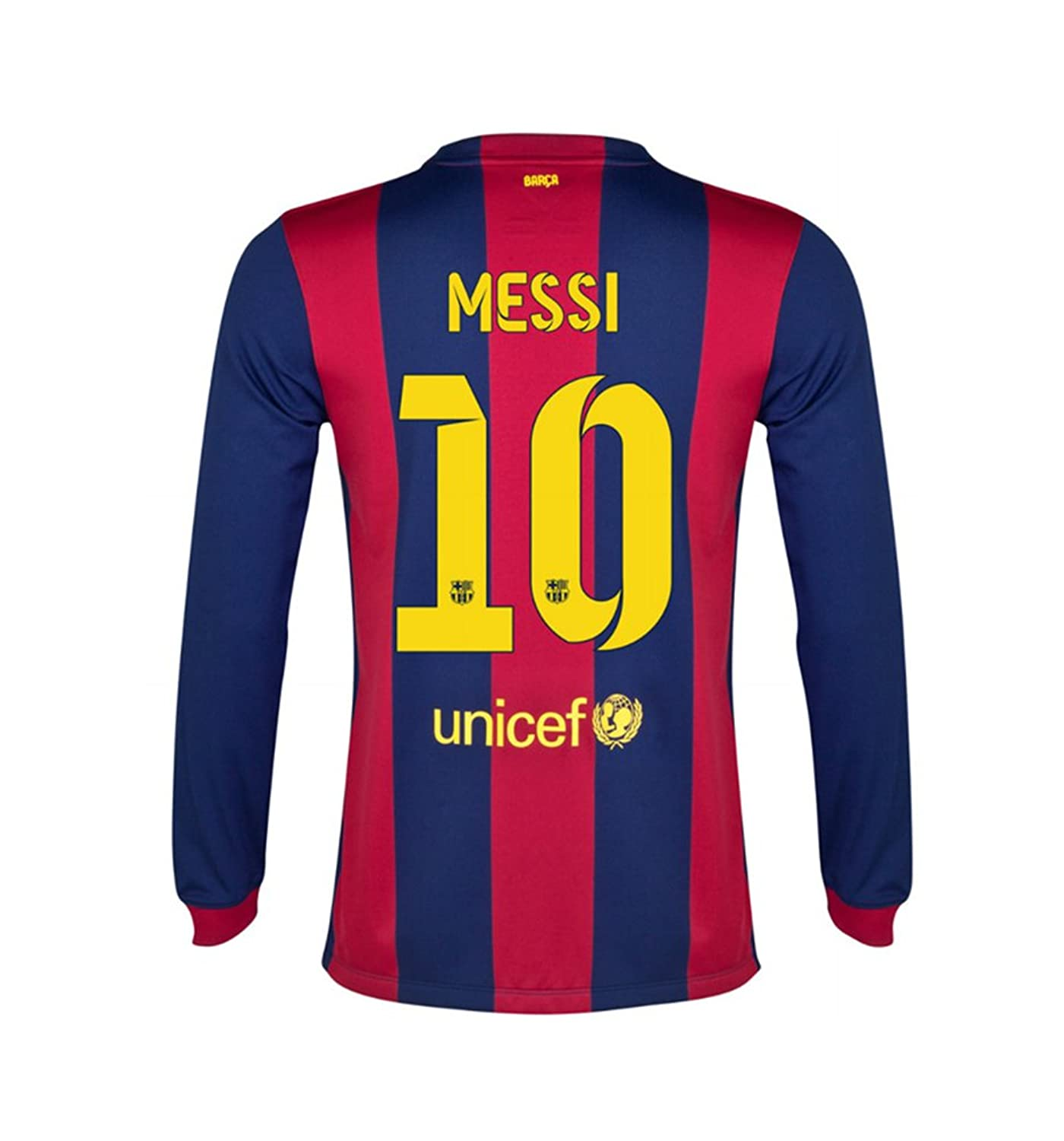 a27befc3d729 ... KIDS JERSEY (10 FC Barcelona Shirt Amazon.com MESSI 10 Nike FC  Barcelona Home Men Jersey 2014-2015 Long Sleeve ...