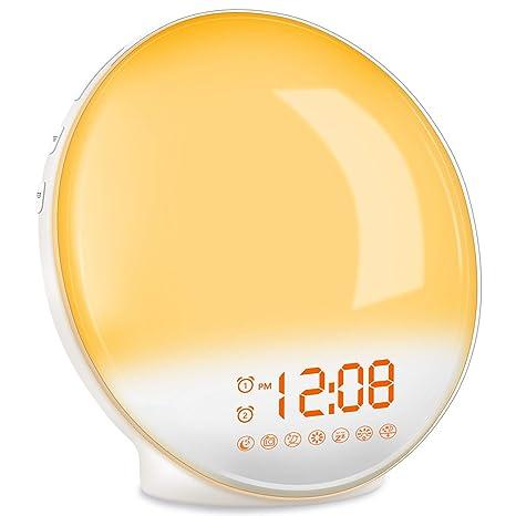 TITIROBA Wake Up Light, Sunrise Simulation Alarm Clock