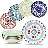 Farielyn-X Large Salad Pasta Bowls Set of 6, Wide