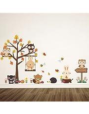 DEKOSH Woodland Animal Sticker