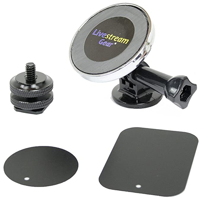 Livestream Gear - Universal magnético para móvil, GoPro Estilo ...