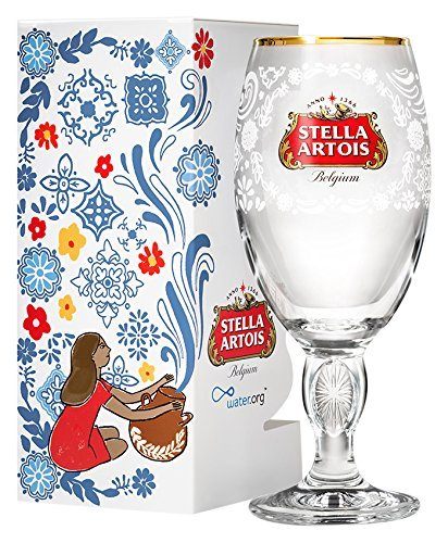 - Stella Artois 2018 Limited Edition Mexico Chalice, 33c