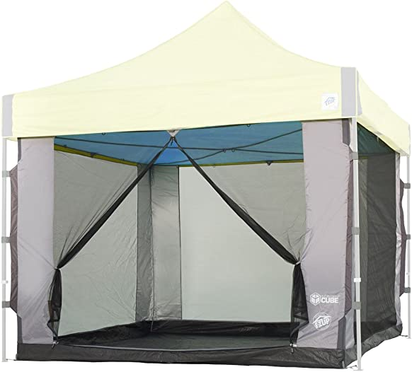 E-Z UP Cube Mesh Canopy Screen Room