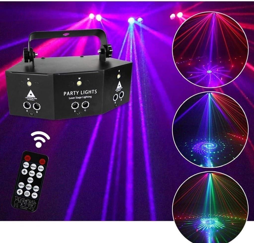 YXB Disco Light /à Distance New Nine Eye Strobe Light-Wireless Party Lights DJ Lights pour Party KTV Bar Stage Club Birthday Wedding Christmas Disco Stage Lights