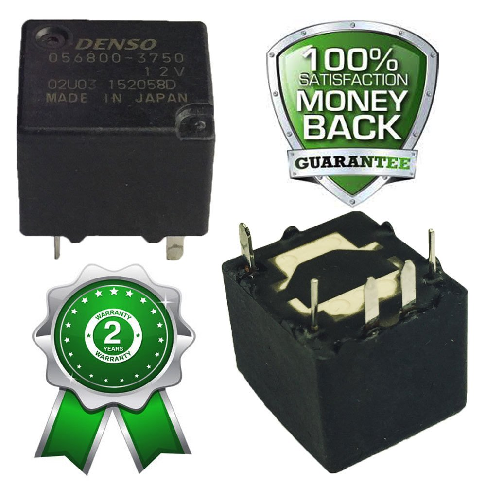 056800 3750 9sx1 Denso Relay 12v 5pin Car Electronics Nais 12 Volt