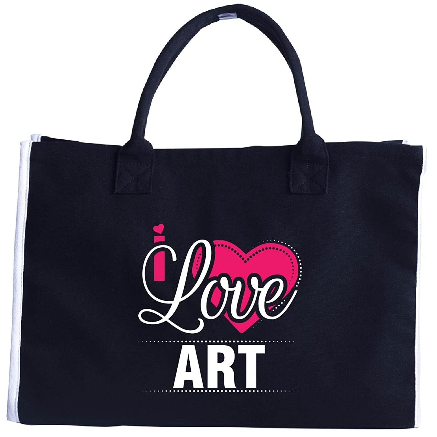 I Love Art - Cool Gift For Art From Girlfriend - Tote Bag