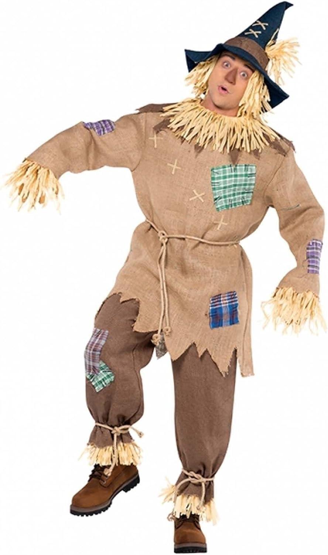 Disfraz para hombre del Espantapájaros del Mago de Oz: Amazon.es ...
