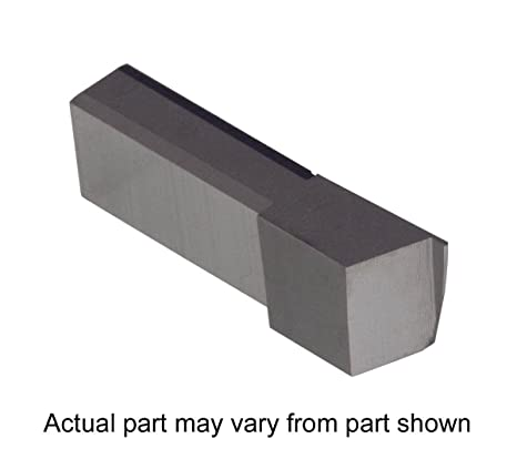 Sharp Corner Nickel Alloys and Stainless Steel with Interrupted Cuts Titanium TiAlN Coated Carbide Grooving Insert for Steel THINBIT 3 Pack LGT015D2RE 0.015 Width 0.045 Depth