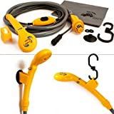 Portable shower system - 12V electrical pump - Camping - Car washing- Outdoor dog cleaning ...