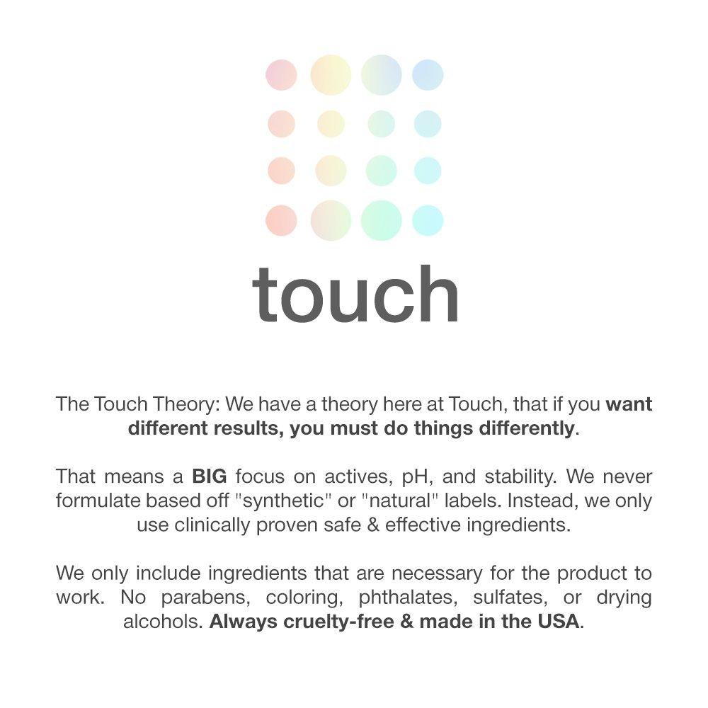 Amazon.com : Touch Keratosis Pilaris Treatment 12% Glycolic Acid & 2 ...