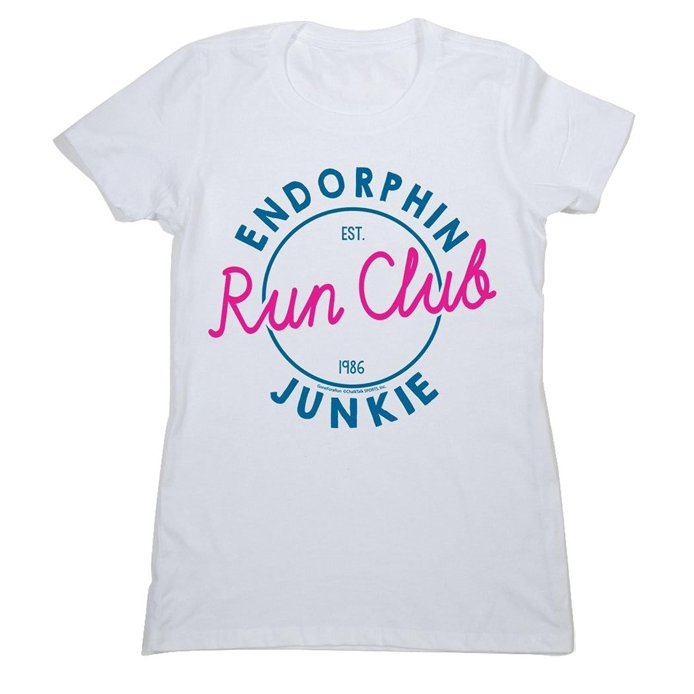 Women's Everyday Runner's Tee Endorphin Junkie Run Club 80S