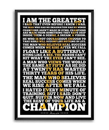 Muhammad Ali Boxing Large Poster Art Print A0 A1 A2 A3 A4 Maxi