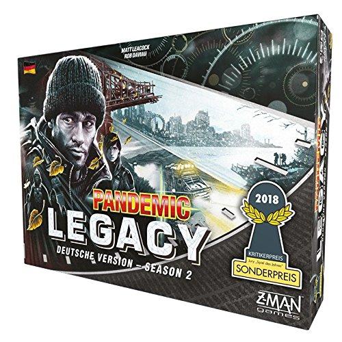 Z-Man Games ZMND0004 Pandemic Legacy - Season 2 Schwarz Schwarz Schwarz bcc1e3