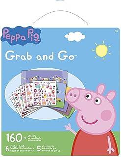 Peppa Pig Grab And Go Sticker Book