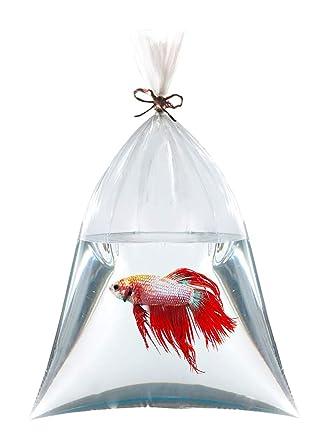 Amazon.com: APQ - 100 bolsas de plástico para pescado (4.7 x ...
