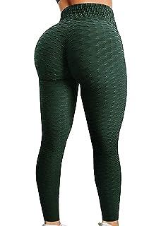 4e20f4c2943ac Fittoo Women's Honeycomb Ruched Butt Lifting High Waist Yoga Pants Chic  Sports Stretchy Leggings
