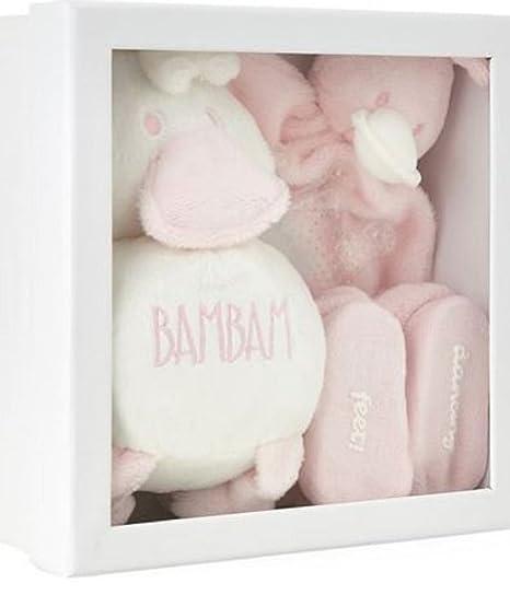 Exclusiva caja de regalo para recién nacido, color beige rosa rosa ...