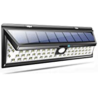 90 LED Solar Powered Wall Light PIR Motion Sensor Outdoor Garden Lamp