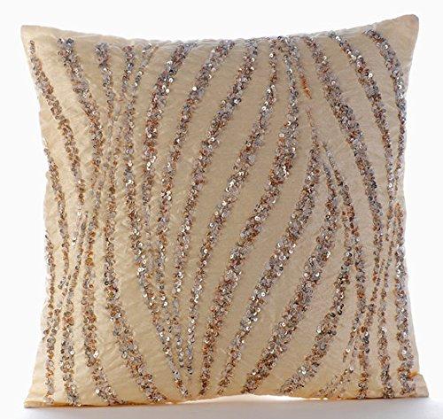 Beaded Pillows Amazon Com