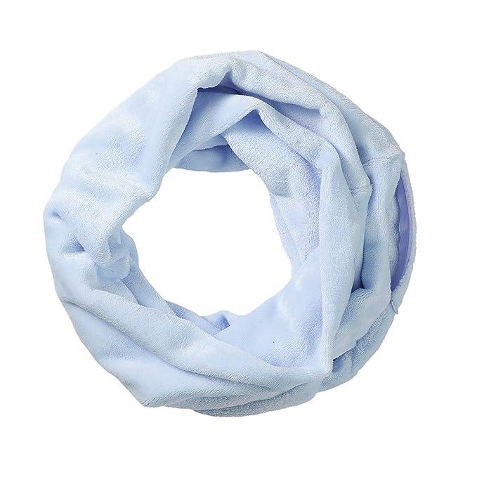 CASPAR Damen warmer Loop Schal Schlauchschal Rundschal mit bunten Streifen