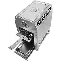 Beefbox Pro | Piezo Zündung | TüV zertifiziert | 800 Grad Oberhitze Grill | komplett Edelstahl | Fuß/Grillrost-Schienen abnehmbar | Made In Germany