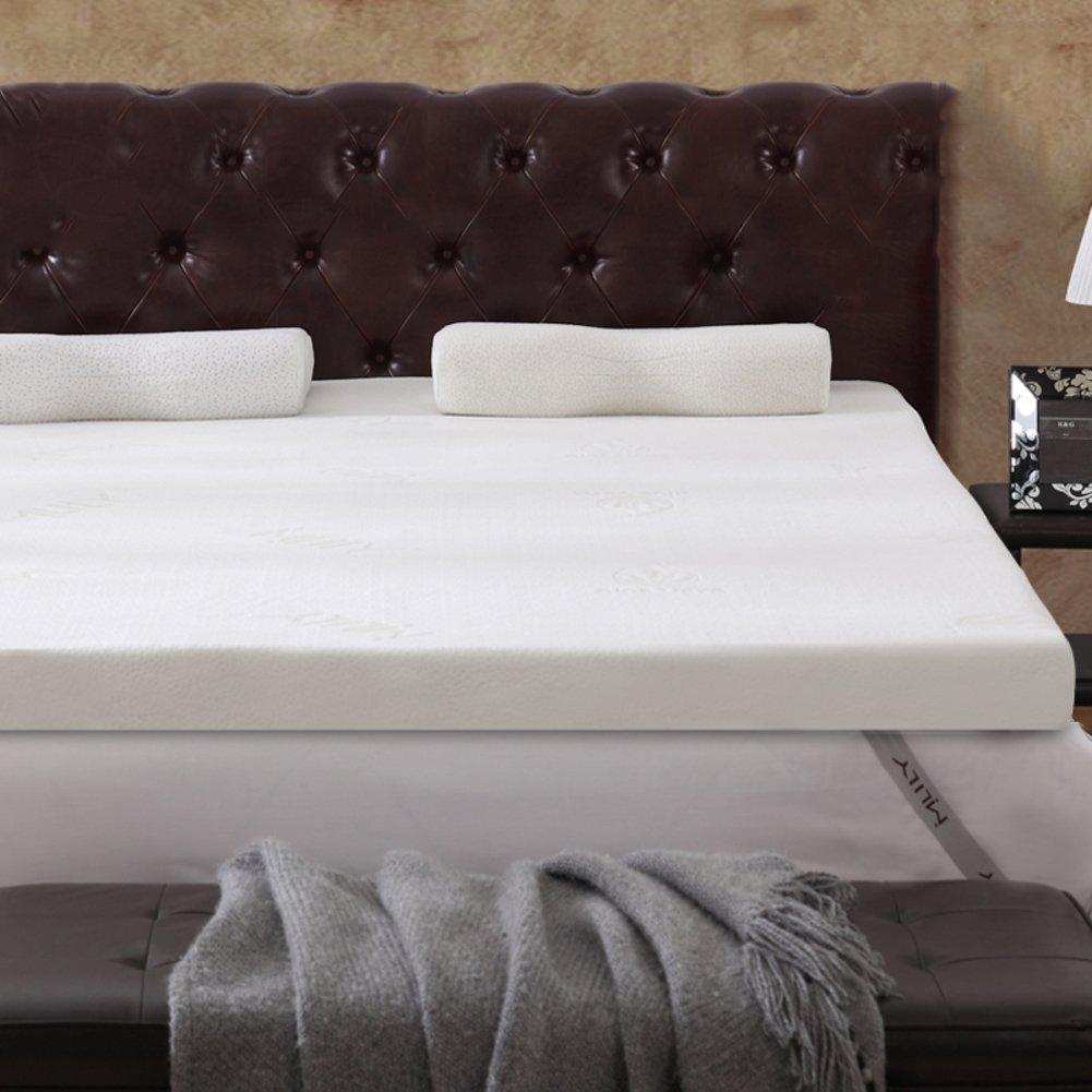 LJ&XJ 記憶泡のマットレス,ソフト快適な畳ダブル厚さ暖かい畳マットレス,背骨厚さ 5 cm 低反発ベッド マットレスを保護します。-ホワイト 120*198cm B07CK17C83 ホワイト 120*198cm