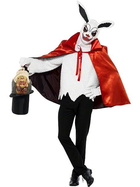 Disfraz Halloween Carnaval Adulto Conejo maligno de Terror ...