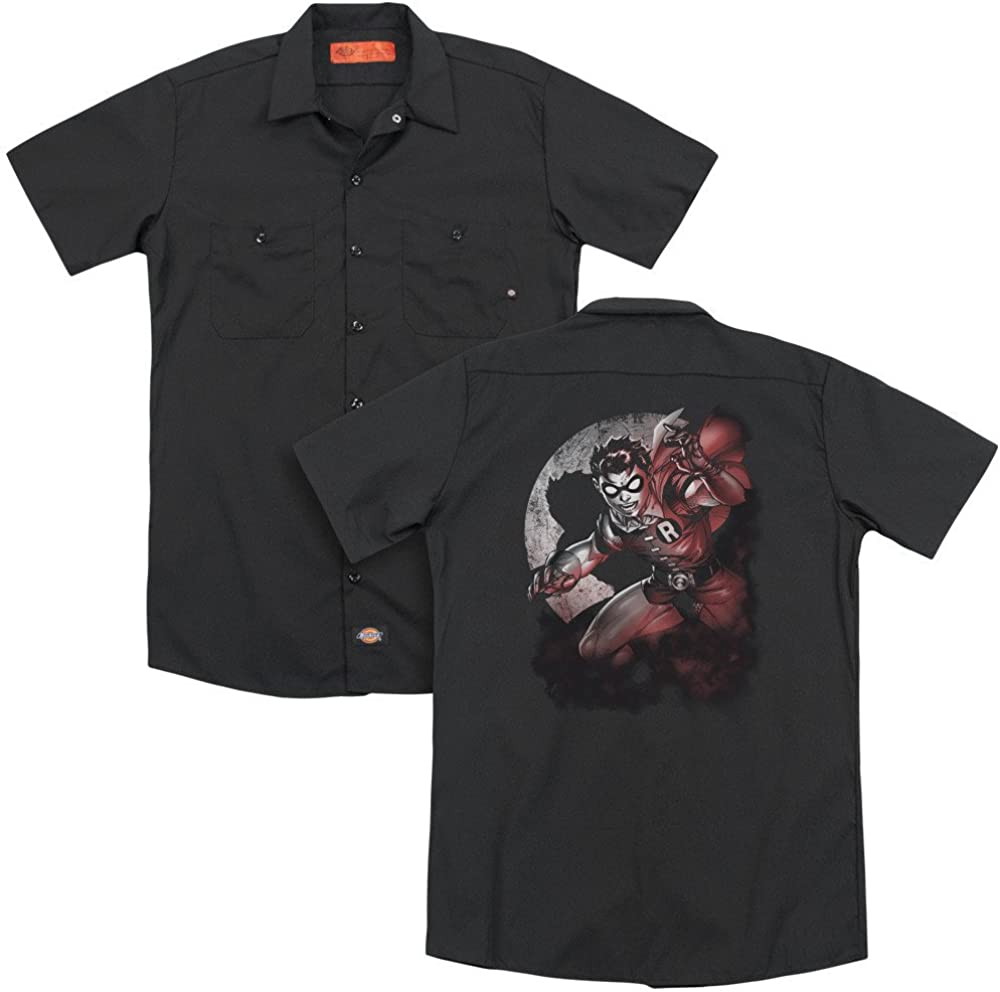 Batman Robin Spotlight Adult Work Shirt