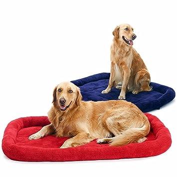 ZHJZ Cómodo Casa para Mascotas Cama para Perro Grande Cat Cama con Cojín de Lana Suave